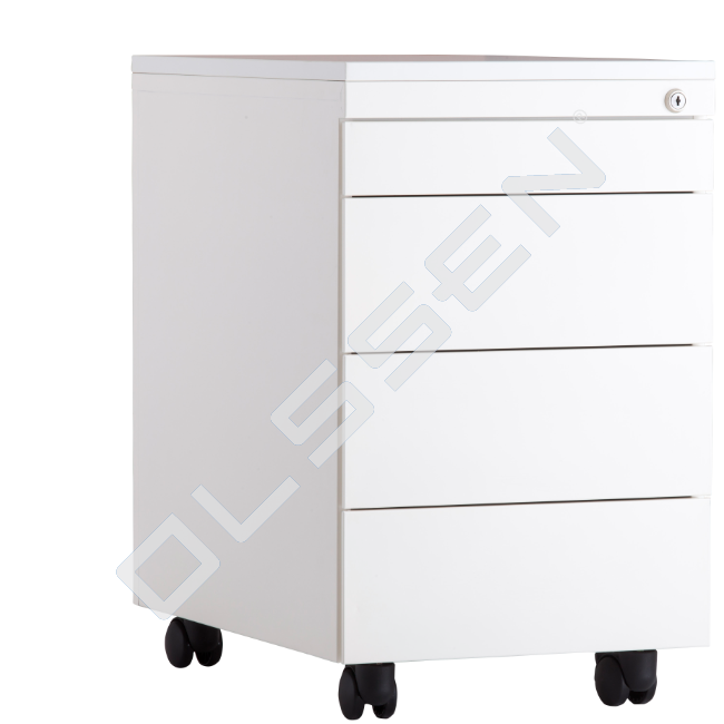 Metal Drawer Cabinet With Wheels 4, Cabinet On Wheels