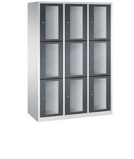 Transparent lockers