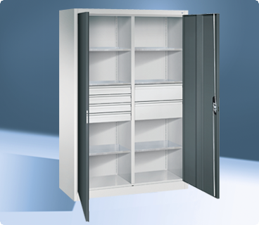 Cabinets with dividers