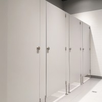 Sanitary walls / shower cubicles - Model E (solid core)