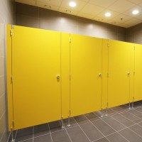 Sanitary walls / shower cubicles - Model B (solid core)