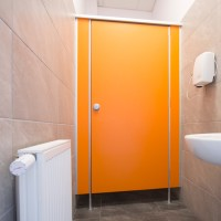 Sanitary walls / shower cubicles - Model G (solid core)